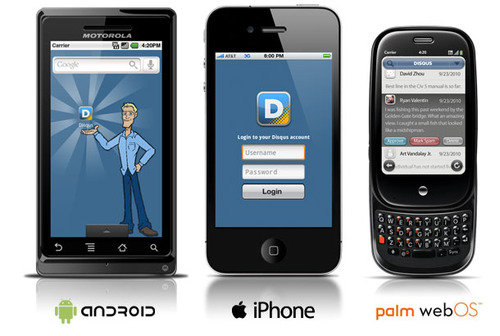 Disqus Embraces 3 Smartphones. Guess Who Got Left Out?