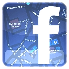 Facebook Places Location Map