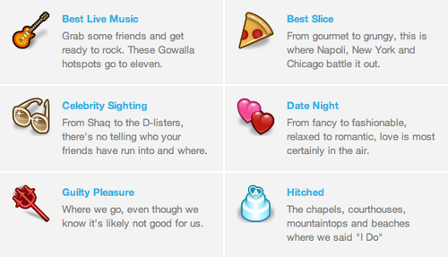 Gowalla Announces 'Highlights' Feature, Sends You To Your Happy Place