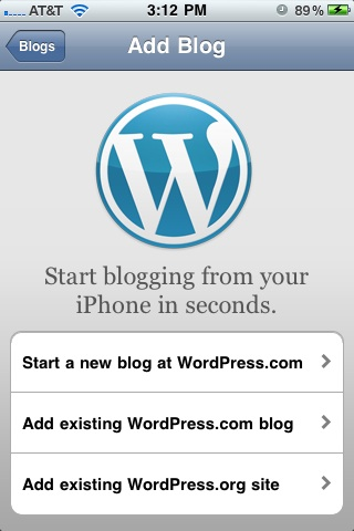 WordPress For iPhone: Video Uploading Now Included!