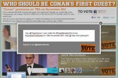 Conan O'Brien Voting System