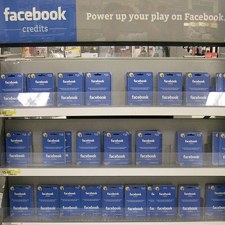 Facebook Credits - Store Shelves
