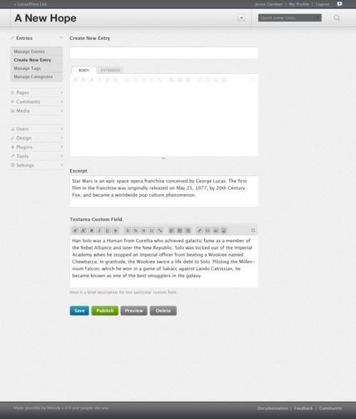 Is Melody Mimicking WordPress?
