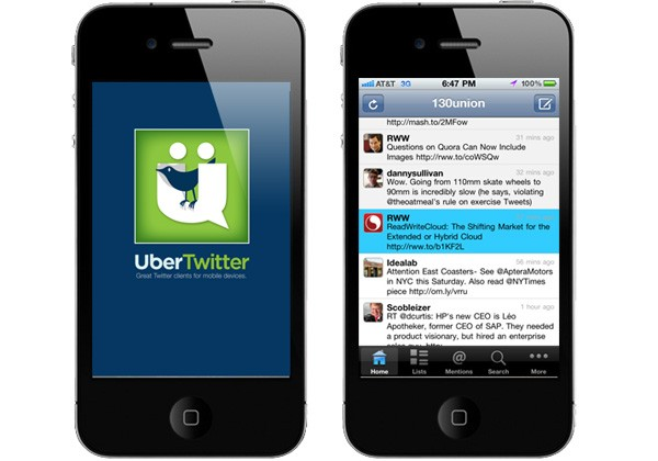 UberTwitter Invades The iPhone