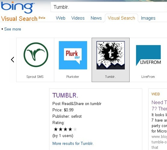 Who's Stealing Tumblr's Name On Windows Phone 7?
