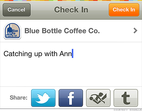Gowalla Check-In