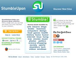 "StumbleUpon Prepares ""Pro User"" Accounts For New Year"