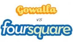 Gowalla v Foursquare