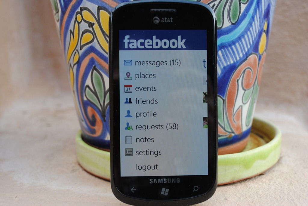 Facebook Places Debuts Upon Windows Phone 7