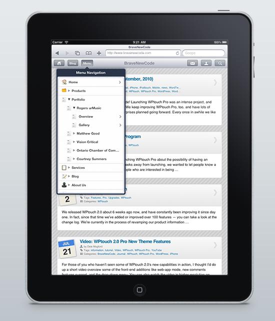 BraveNewCode: One WordPress Mobile Plugin To Rule Them All