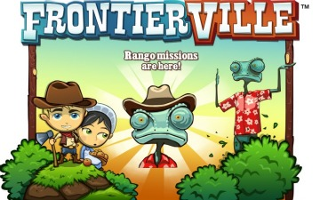 Zynga Using Facebook Game FrontierVille To Hype Johnny Depp's New Movie