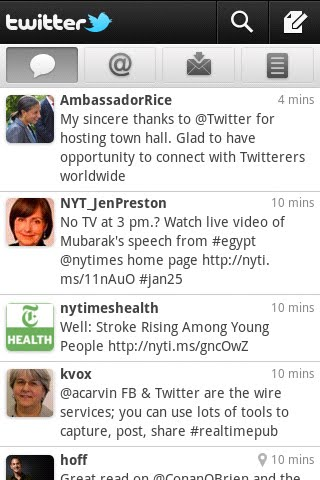 Twitter Updates Android App, Makes It Look Pretty