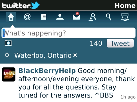Twitter For Blackberry Embracing Long Awaited Features
