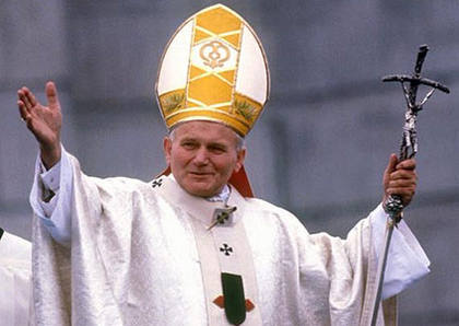 Pope John Paul II Gets Posthumous Facebook Page