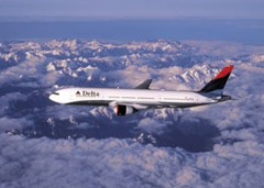 Delta Airline Airplane Flying