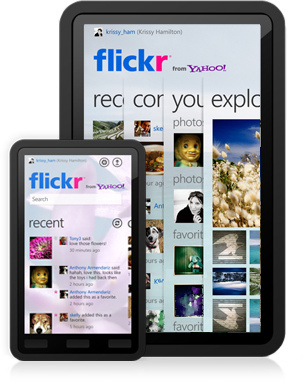 Flickr Flirts With Windows Phone 7