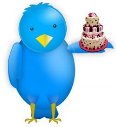 Twitter Cake Logo