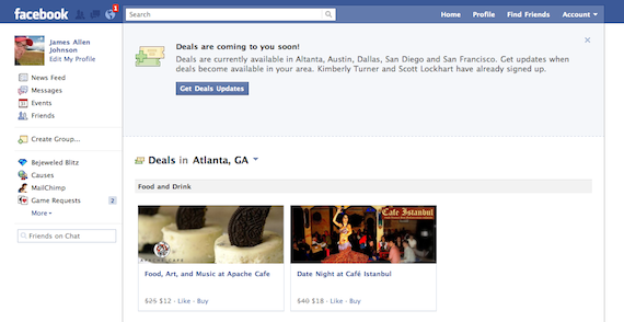 Facebook Deals: The Social Advantage Is Huge