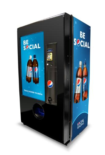 "Pepsi Introduces ""Social Vending Machine"""