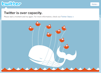 Fail Whale on Twitter