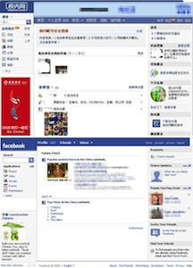 RenRen China Social Network