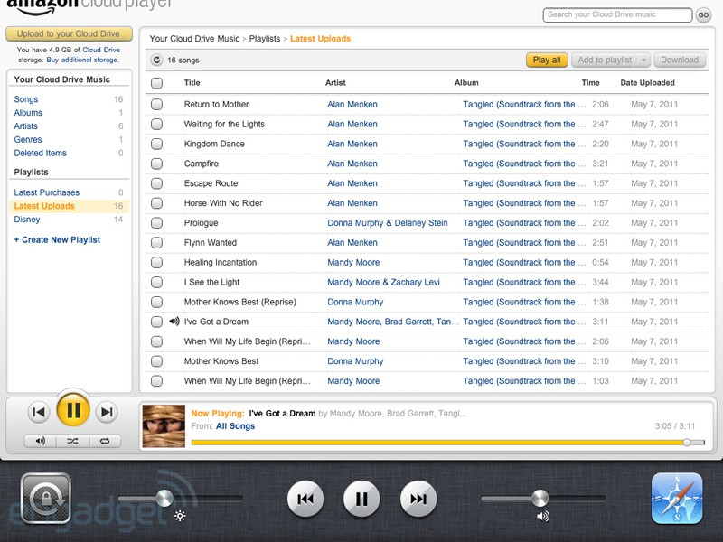 Amazon Can Now Stream Music To iOS Devices