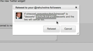 Rapportive Gmail Twitter Integration