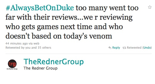 Redner Group Duke Nukem Review Blacklist