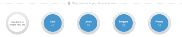 Facebook Circles, a hack to create Facebook Lists in the same style as Google+ Circles