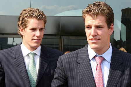 Winklevoss Twins Drop Lawsuit Against Facebook