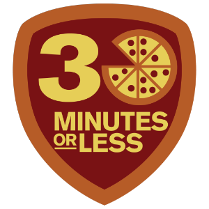 30 Minutes or Less Foursquare Badge