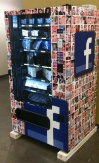 Facebook vending machine