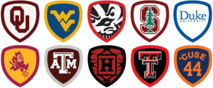 Foursquare College Badges
