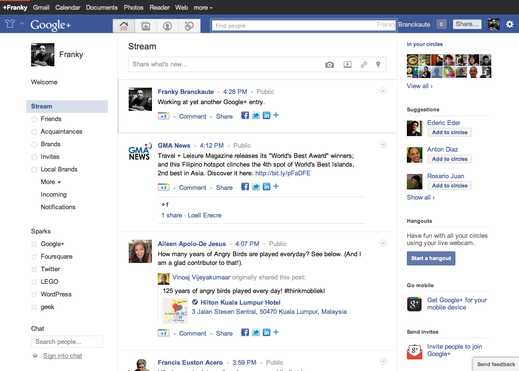 15 Useful Google+ Browser Extensions for Google Chrome Browser