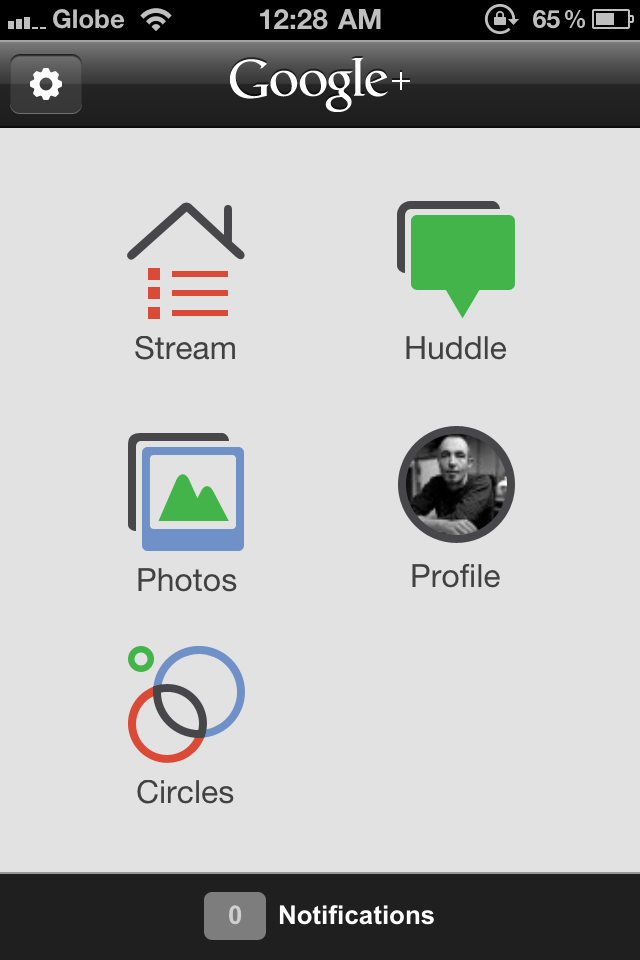 Google+ for iPhone Released. Not Compatible with iPad and iPod Touch