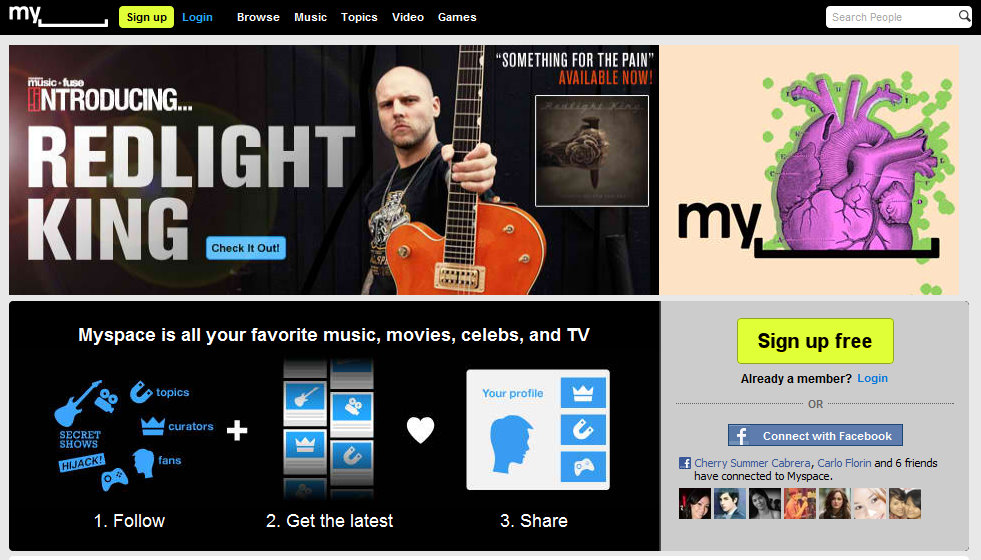 Myspace. Does it really have a heart after firing more employees?