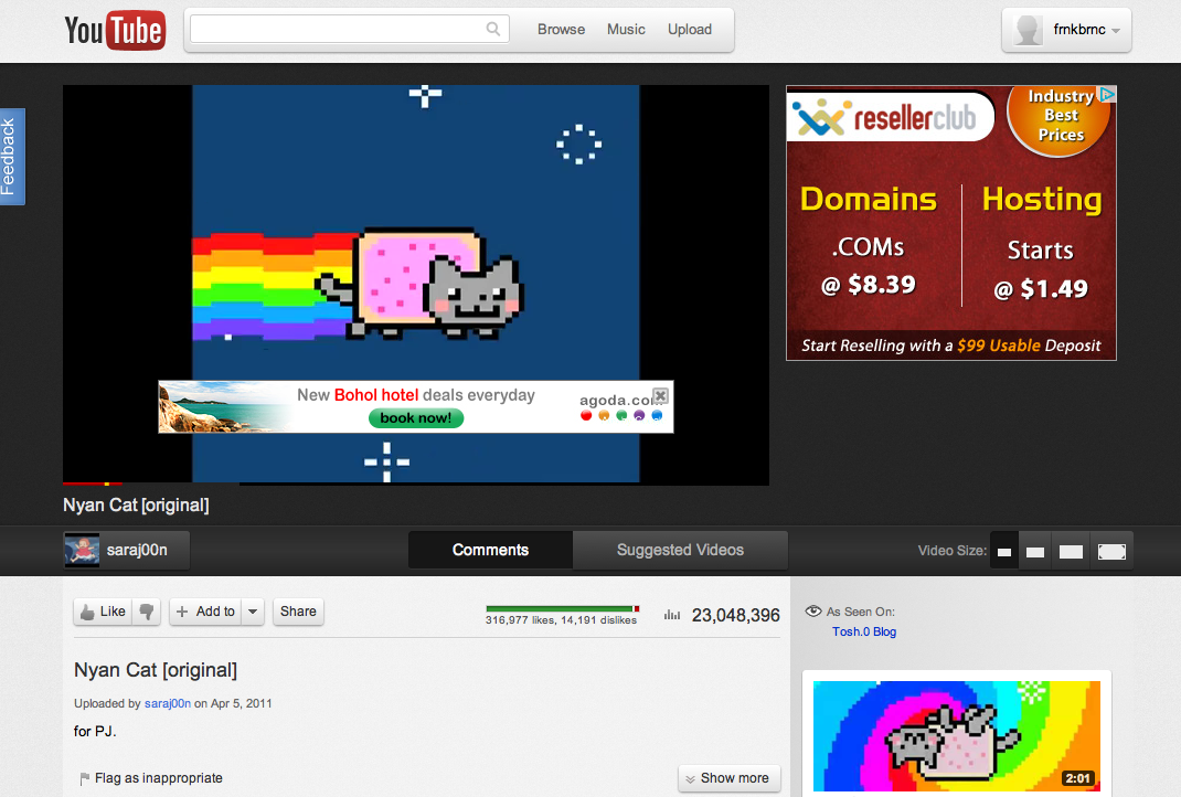 Youtube Releases Experimental New Design Cosmic Panda