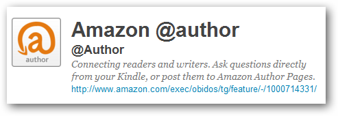 Amazon Announces @Author Program, Users Can Now Ask Writers Book Related Questions
