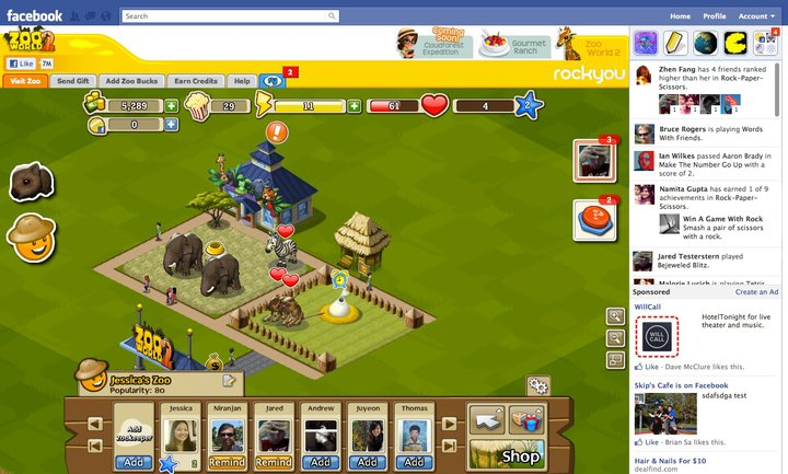 Facebook Unveils New Gaming Features, Takes Aim At Google+ Game Platform