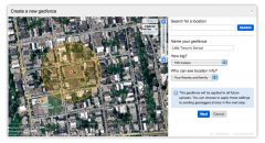 Flickr GeoFences Setup
