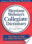 Merriam Webster Collegiate Edition