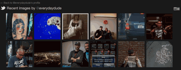 Twitter Rolls Out User Galleries, Shows Last 100 Tweeted Photos