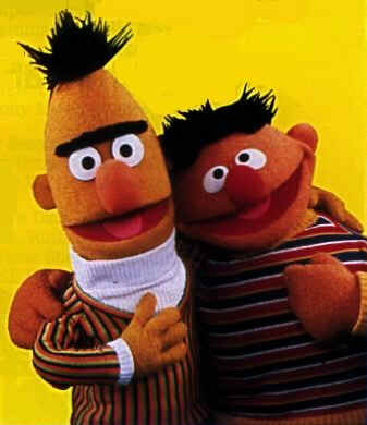 A petition on Facebook for Ernie and Bert to get married