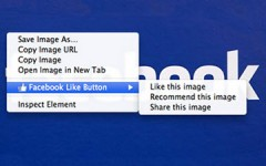 Facebook Like Button Extension for Chrome