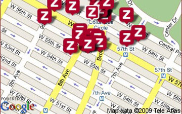 Zagat on Google Maps