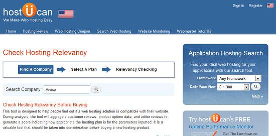 HostUCan's Host Relevancy Check Tool Makes Picking A Provider Super Easy