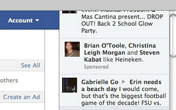 Facebook Announces Sponsored Ticker Stories