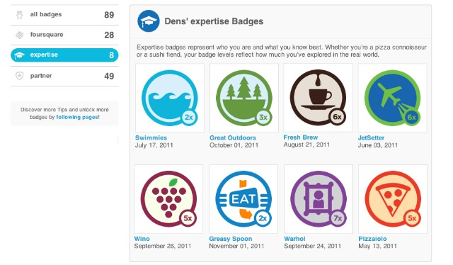 "Foursquare Badges Now ""Level Up"" As Users Check-In"