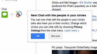Google+ Adds Support For Mutual Circles Chat
