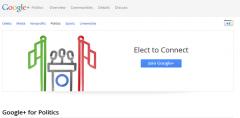 Google Plus For Politics